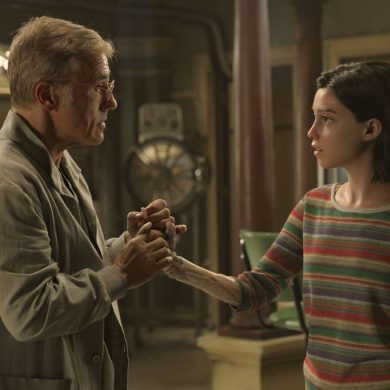 Alita Battle Angel : Rencontre avec Christoph Waltz