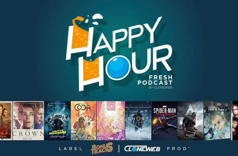 Happy Hour #54 : Supernatural, The Crown, Lou Sonata, Aassassin's Creed Vahlhalla, Truth Seekers…