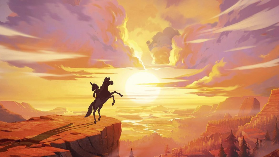 Yakari, Calamity : l'animation en route vers l'Ouest