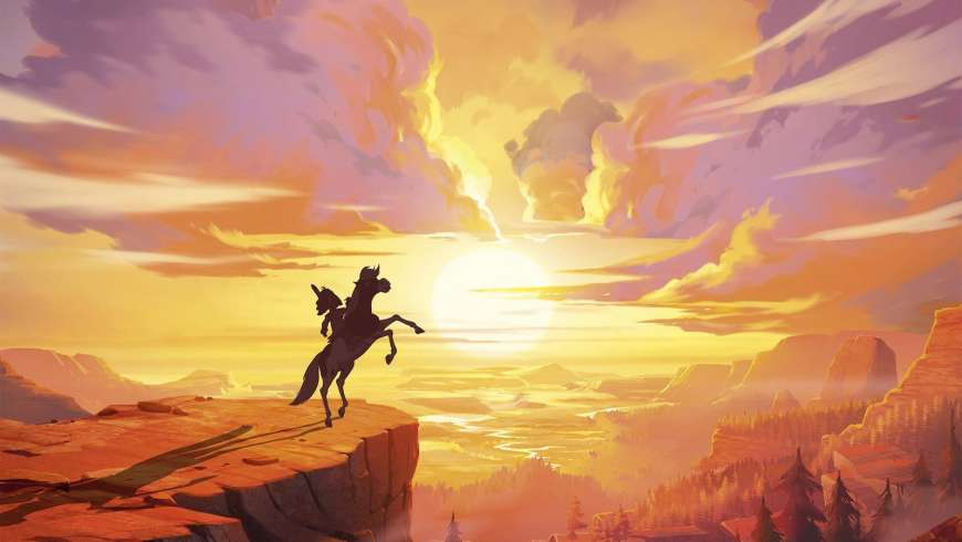 Yakari, Calamity : l'animation en route vers l'Ouest