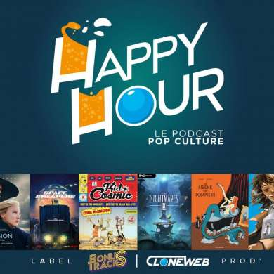 Happy Hour #57 : The Blind Prophet, Boss Level, Kid Cosmic, My Broken Mariko, Clarice…