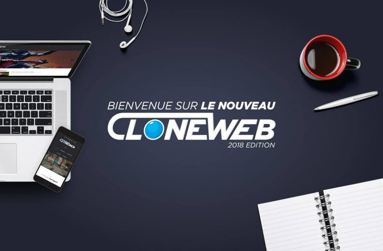 Bienvenue sur CloneWeb version 2018