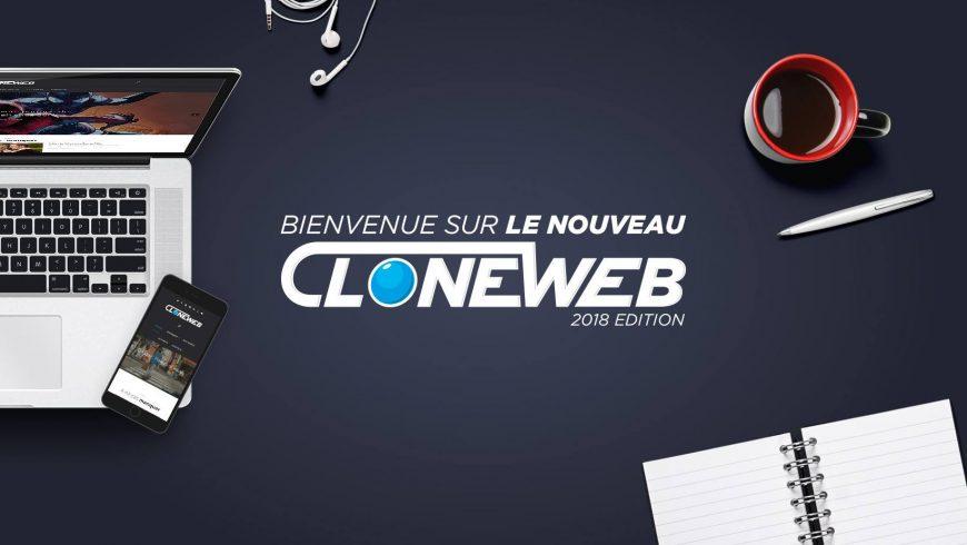 Bienvenue sur CloneWeb version 2018