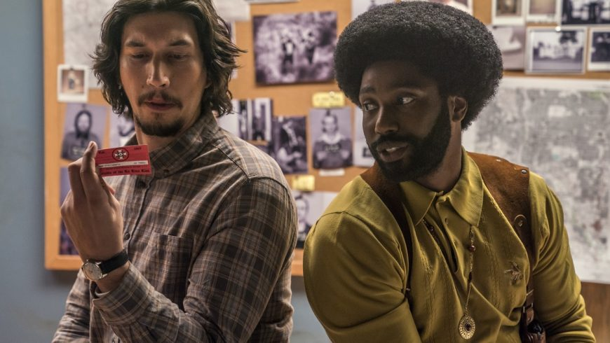 Critique : BlacKkKlansman