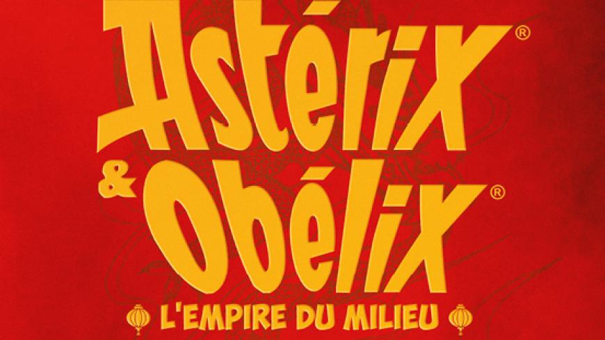 Astérix et Obélix : l'Empire du Milieu par Guillaume Canet
