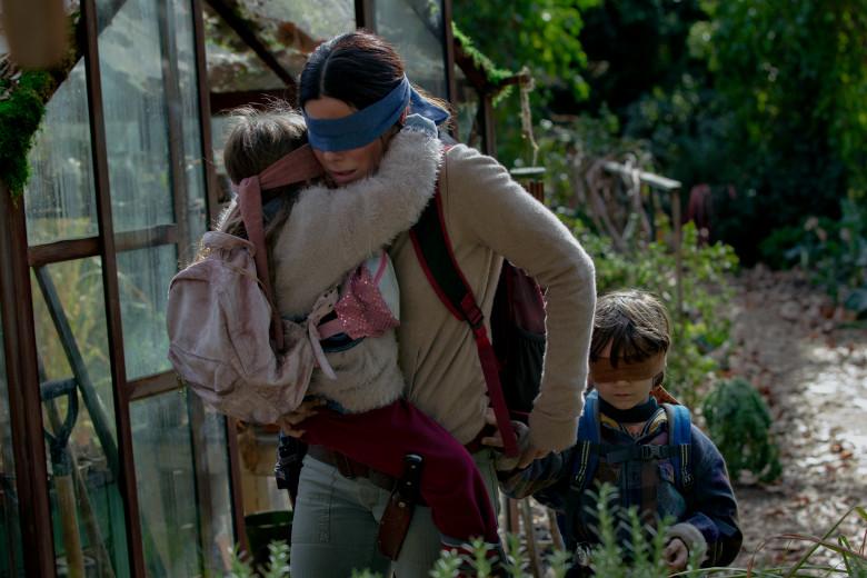 BIRD BOX : Sandra Bullock dans un thriller apocalyptique pour Netflix (trailer)