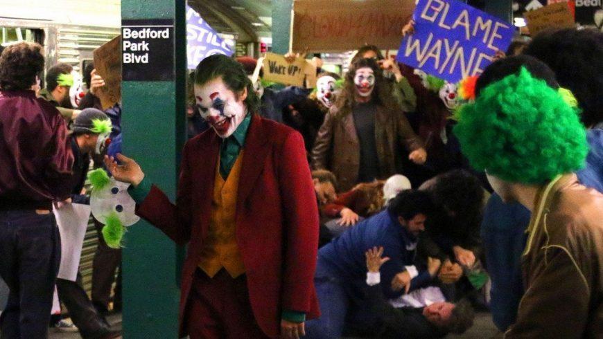 The Joker : trop d'images de tournage