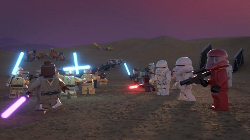 Star Wars Holiday Special : la bande annonce de la version Lego