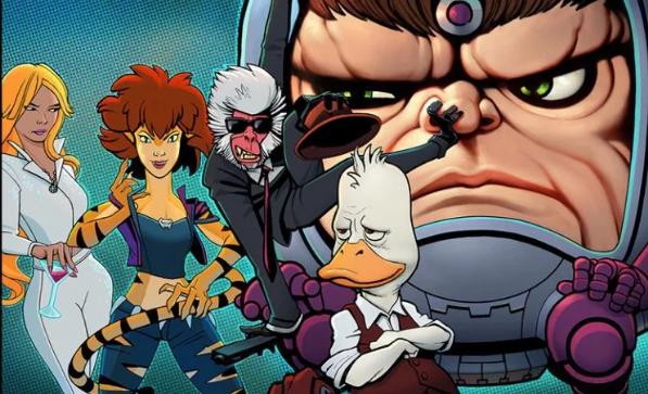Howard The Duck et les autres bientôt en séries animées