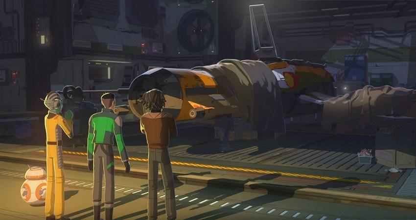 Star Wars Resistance : 3 minutes d'images