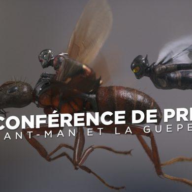 Ant-Man et la Guêpe : la conférence de presse