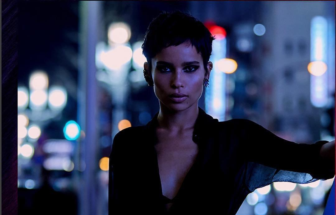 The Batman : Zoe Kravitz est Catwoman