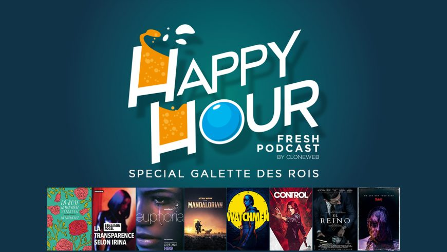 Happy Hour des Rois : Euphoria, The Mandalorian, Watchmen, Control, Slipknot…