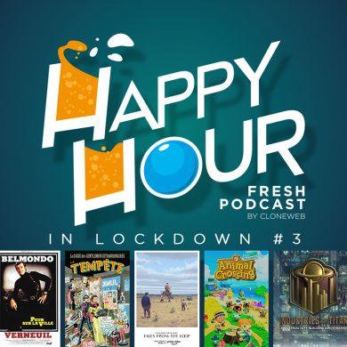 Happy Hour in Lockdown #3 : Peur sur la Ville, Tales from the Loop, Animal Crossing, Industries of Titan…