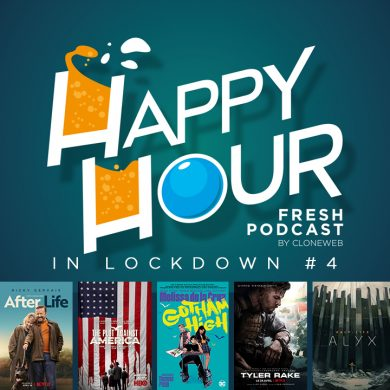 Happy Hour in Lockdown #4: After Life, The Plot Against America, Gotham High, Tyler Rake, Half Life