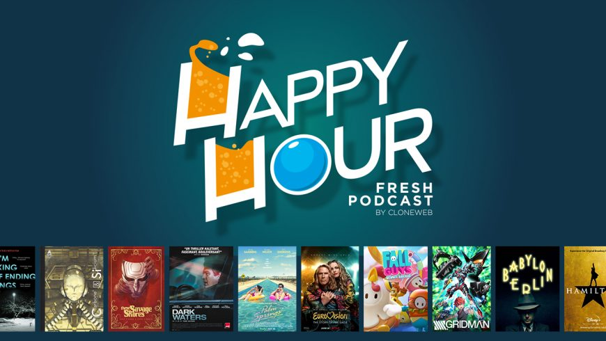 Happy Hour #51 : Carbone & Silicium, These Savage Shores, Eurovision Song Contest, Gridman, Hamilton…