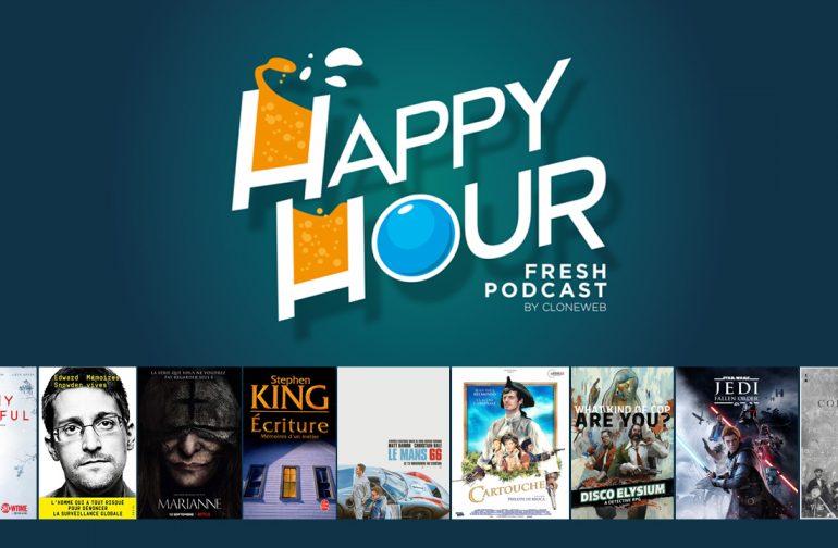 Happy Hour #41 : Marianne, Le Mans 66, Cartouche, Disco Elysium, Jedi Fallen Order…