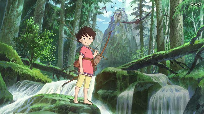 Ronya : du Ghibli à la télévision