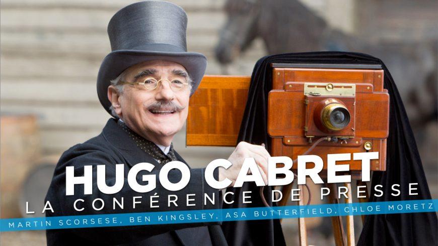 Rencontre avec Martin Scorsese et le casting d'Hugo Cabret