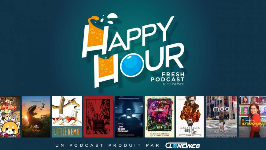 Happy Hour #52: Aggretsuko, Little Nemo, The Social Dilemna, Le Diable Tout le Temps, G.I. Joe…